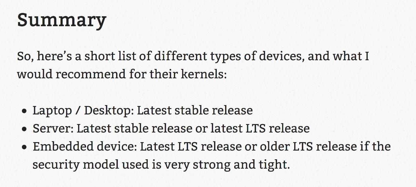 LTS-Kernel